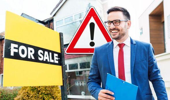 An-estate-agent-stock